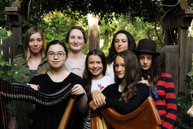 Spring 2014 – New CDInnisheer, by Members of theBay Area Youth Harp EnsembleandBAYHEAlumnae